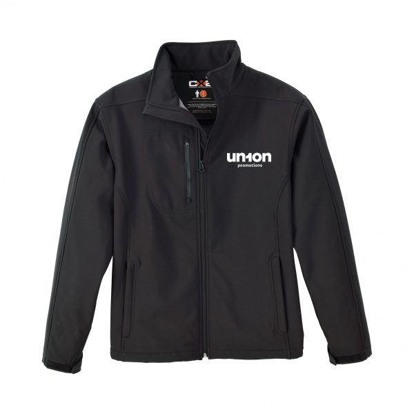 Men's Softshell Jacket - Black