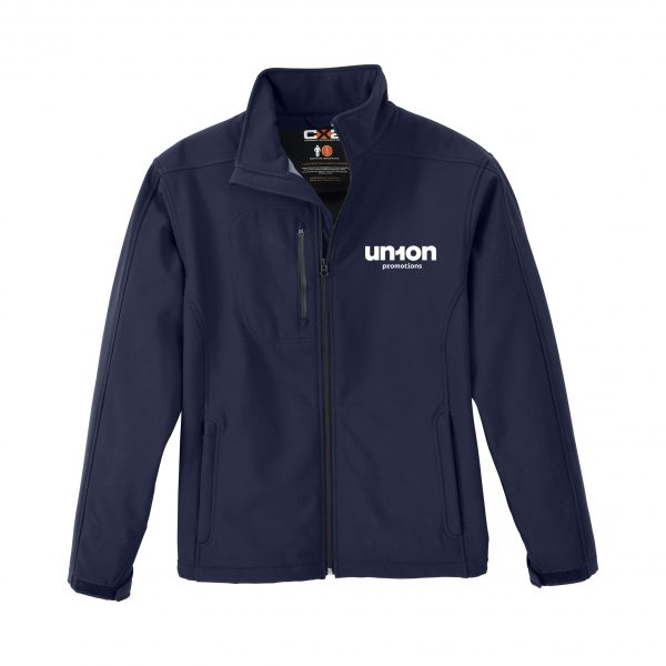 Men's Softshell Jacket - Navy