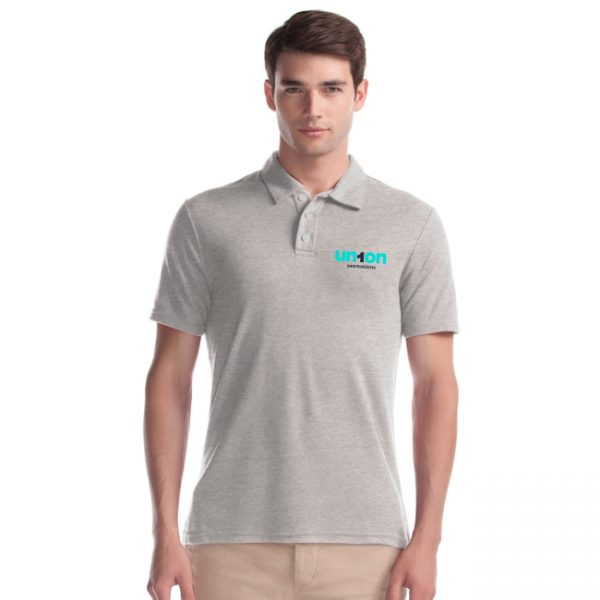 Men's Hole-in-One Polo - Light Gray