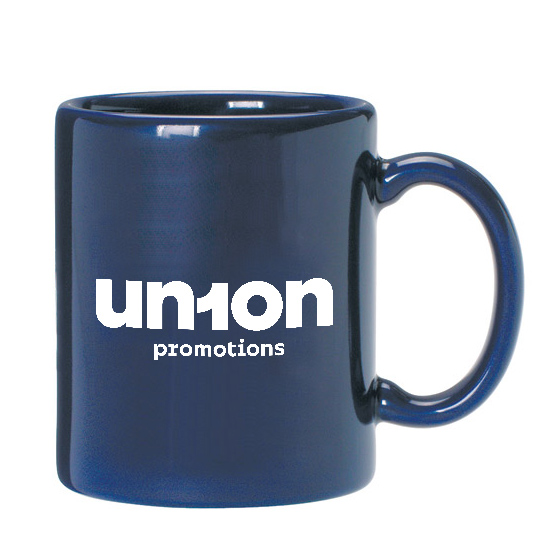 """The Javanator"" Coffee Mug - BLUE"