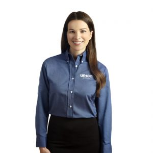 Women's Oxford Dress Shirt - Blue