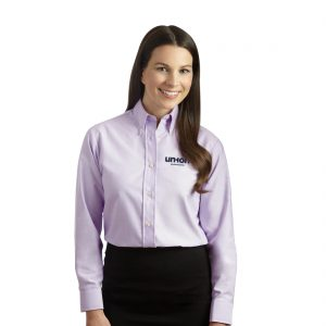 Women's Oxford Dress Shirt - Pink