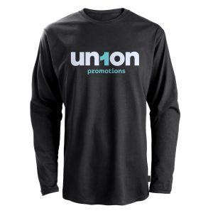 Mens Long Sleeve Tee - Black