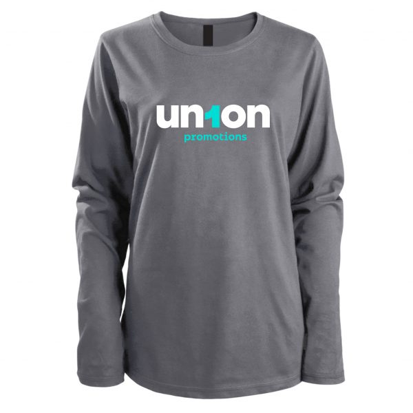 Women's Long Sleeve Tee - Gray