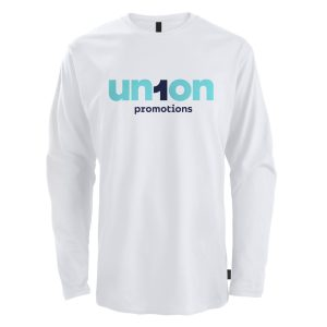 Mens Long Sleeve Tee - White