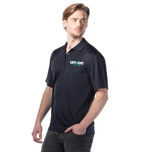 Mens Golf Polo - Black