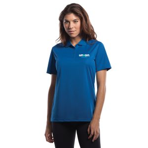 Womens Golf Polo - Blue
