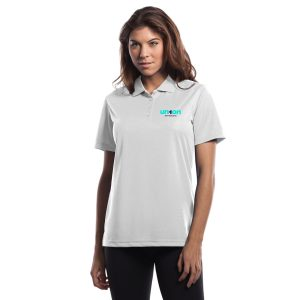 Womens Golf Polo - White