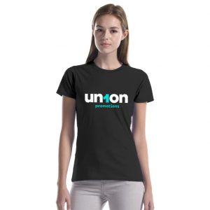 """Womens The Mighty Cotton """"T"""" – Black"""